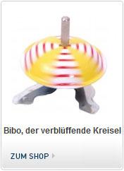 Bibo der verblüffende magnetische Kreisel