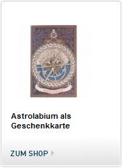 Astrolabium als Geschenkkarte