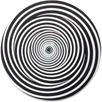 Dreifachspirale, Kreisel, Optische Täuschung, Optische Illusion