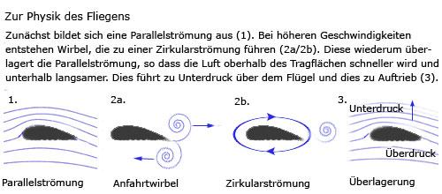 """Grafik zu """"Warum fliegen Flugzeuge?"""""""