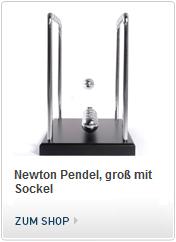 Newton Pendel mit Sockel