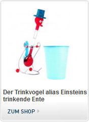 Trinkvogel oder Einsteins trinkende Ente