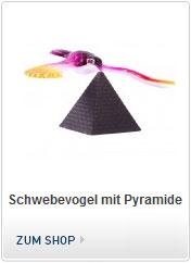 Schwebevogel mit Pyramide, Balancierender Vogel