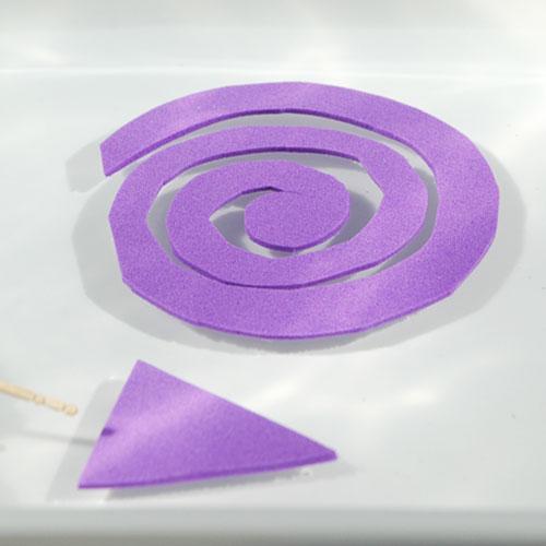 Spirale im Wasser - Physik Freihandversuch zur Oberflächenspannung