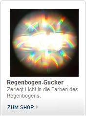 Regenbogen Gucker, Diffraktion