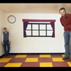 Ames Raum, Adelbert Ames, optische Illusion, optische Täuschung
