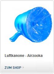 Airzooka, Luftkanone, Wirbelkanone, Schallkanone