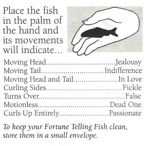 Wunderfisch, Miracle Fish, Wahrsagender Fisch, Fortune Teller Fish